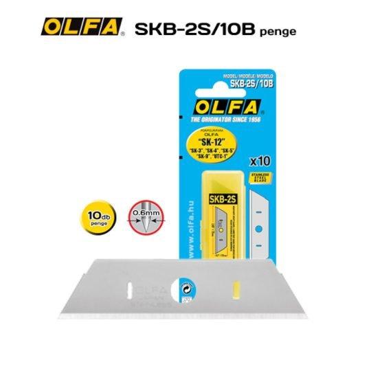 Olfa SKB-2S/10B - Rozsdamentes biztonsági penge