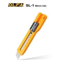 Olfa SL-1 - 18mm-es standard kés / sniccer