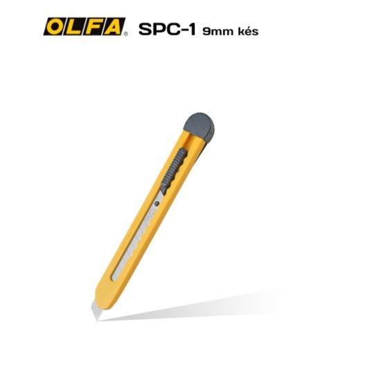 Olfa SPC-1 - 9mm-es standard kés / sniccer