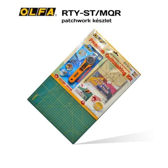 Olfa RTY-ST/MQR - Foltvarró / Patchwork induló készlet