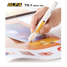 Olfa TS-1 - Riccelő dekor és hobby kés