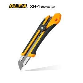 Olfa XH-1 - 25mm-es standard kés / sniccer