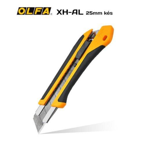 Olfa XH-AL - 25mm-es standard kés / sniccer