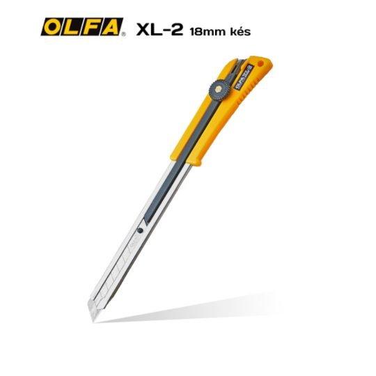 Olfa XL-2 - 18mm-es standard kés / sniccer