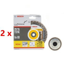 Bosch gyémánt darabolótárcsa 125mm 2db