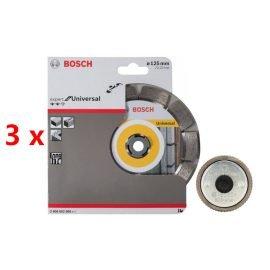 Bosch gyémánt darabolótárcsa 125mm 3db
