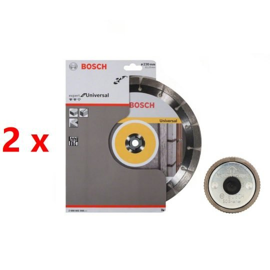 Bosch gyémánt darabolótárcsa 230mm 2db