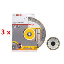 Bosch Gyémánt darabolótárcsa 230mm 3db-os szett