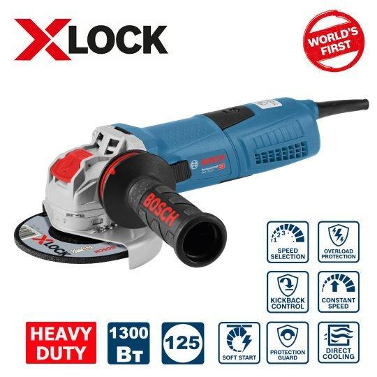 Bosch GWX 13-125 S Sarokcsiszoló