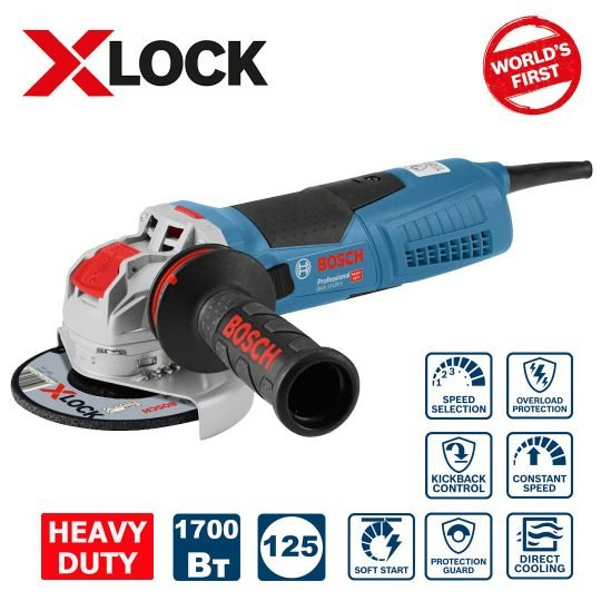 Bosch GWX 17-125 S Sarokcsiszoló