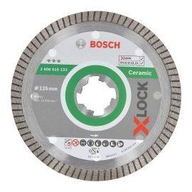 Bosch X-LOCK Best for Ceramic Extra Clean Turbo gyémánt vágótárcsa 125 x 22,23 x 1,4 x 7 mm