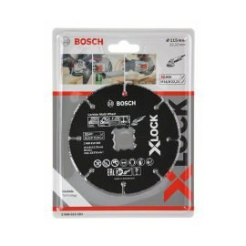 Bosch X-LOCK Carbide Multi Wheel Vágótárcsa 115 x 1 mm