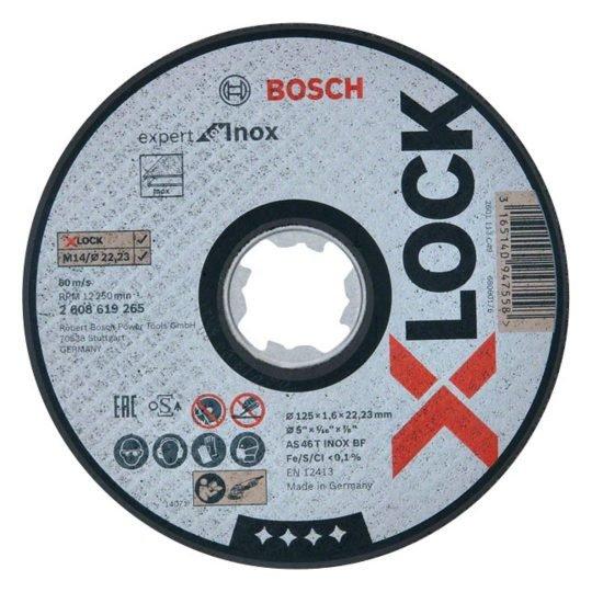 Bosch X-LOCK Expert for Inox Egyenes Vágótárcsa 125 x 1 mm