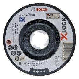 Bosch X-LOCK Expert for Metal Csiszolótárcsa 115 x 6 mm