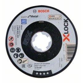 Bosch X-LOCK Expert for Metal Egyenes Vágótárcsa 115 x 1,6 mm
