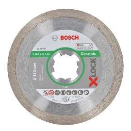 Bosch X-LOCK Standard for Ceramic gyémánt vágótárcsa 110 x 22,23 x 1,6 x 7,5 mm