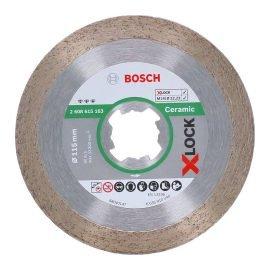 Bosch X-LOCK Best for Ceramic gyémánt darabolótárcsa 115 x 22,23 x 1,6 x 10 mm