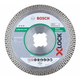 Bosch X-LOCK Best for Hard Ceramic gyémánt darabolótárcsa 125x 22,23 x 1,6 x 10 mm