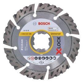 Bosch X-LOCK Best for Universal gyémánt vágótárcsa 115 x 22,23 x 2,2 x 12 mm