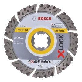 Bosch X-LOCK Best for Universal gyémánt vágótárcsa 125 x 22,23 x 2,2 x 12 mm