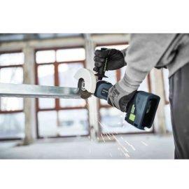 Festool Akkus sarokcsiszoló AGC 18-125 Li 5,2 EB-Plus + Ajándék 202479 BP 18 Li 5,2 ASI Akkuegység
