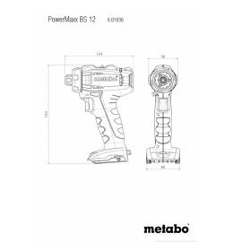 Metabo BS 12 Akkus Fúrócsavarozó