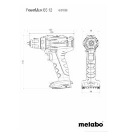 Metabo BS 12 Akkus Fúrócsavarozó_4