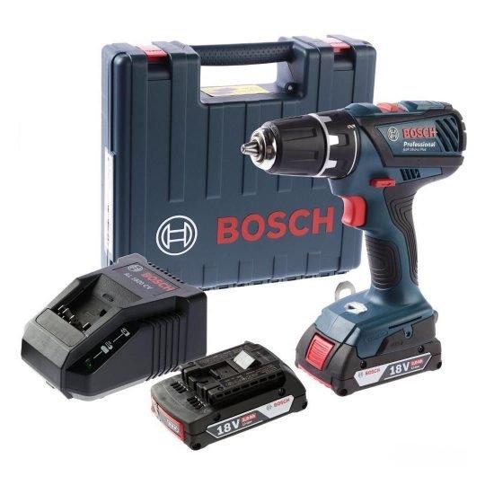 Bosch GSR 18-2-Li Akkus fúró-csavarbehajtó