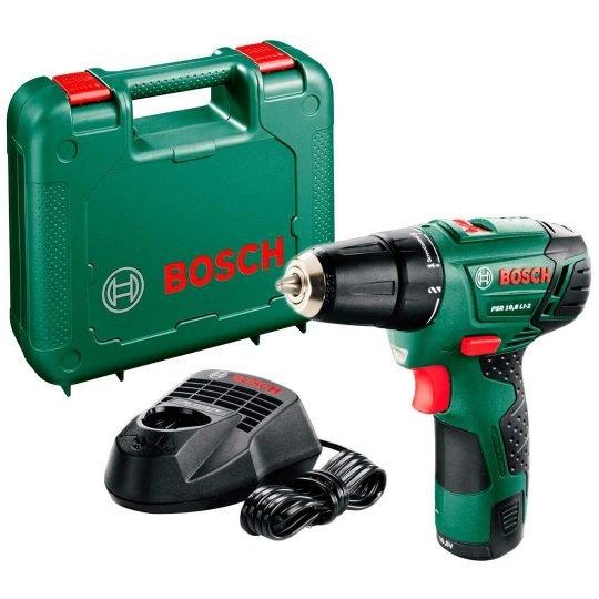 Bosch PSR 10,8 LI-2 Akkus fúró-csavarbehajtó