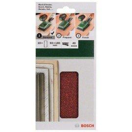 Bosch 10 részes csiszolólapkészlet rezgőcsiszolókhoz G= 40