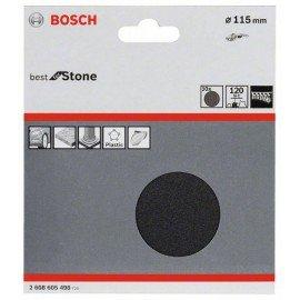 Bosch 10 részes F355 csiszolólap-készlet 115 mm, 120