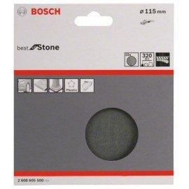 Bosch 10 részes F355 csiszolólap-készlet 115 mm, 320