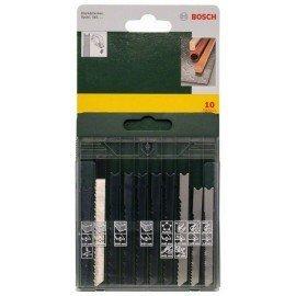 Bosch 10 részes fűrészlap kazetta fa/fém/műanyag (U-szár)