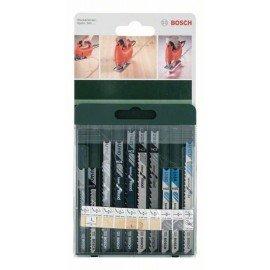 Bosch 10 részes szúrófűrészlap készlet, U-szár U 19 BO; U 1 AO; U 111 C) U 111 D; U 144 D; U 101 B; U 101 D; U 18 G; U 18 A; U 127 D
