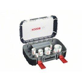 Bosch 10 részes univerzális körkivágó készlet, Progressor 16; 20; 25; 32; 740; 51; 64 mm