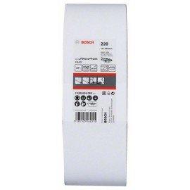 Bosch 10 részes X440 csiszolószalag készlet 75 x 533 mm, 220
