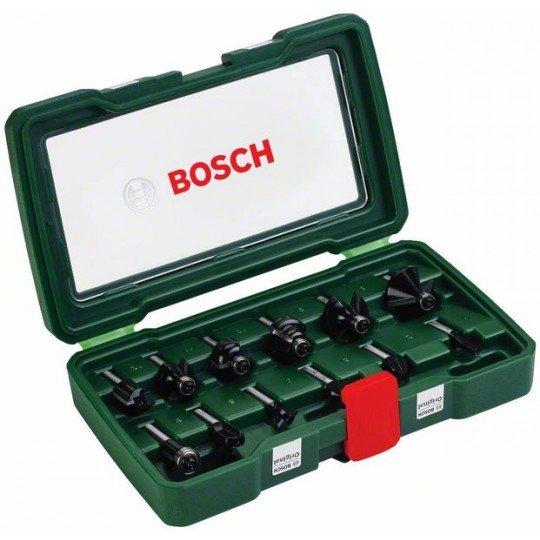 Bosch 12 részes TC marófej készlet (8 mm-es szár)