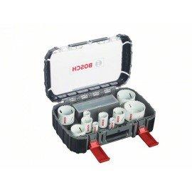 Bosch 14 részes univerzális körkivágó készlet, Progressor 20; 22; 25; 32; 35; 40; 44; 51; 60; 68; 76 mm