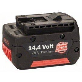 Bosch 14,4 V-os betolható akkuegység Standard Duty (SD), 2,6 Ah, Li-ion, GBA M-C