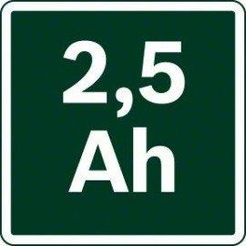 Bosch 14,4 V-os lítium-ionos rendszertartozék PBA 14.4V 2.5Ah W-B akkuegység
