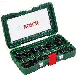 Bosch 15 részes TC marófej készlet (8 mm-es szár)