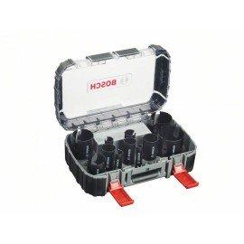 Bosch 15 részes univerzális körkivágó készlet, Multi Construction 20; 22; 25; 32; 35; 40; 44; 51; 60; 64; 76 mm