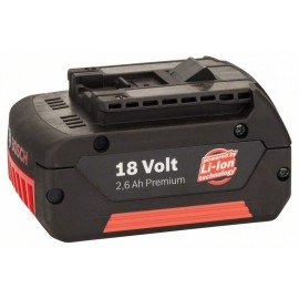 Bosch 18 V-os betolható akkuegység Standard Duty (SD), 2,6 Ah, Li-ion, GBA M-C