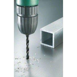 Bosch 19 részes fémfúró készlet, HSS-R, DIN 338 1,0; 1,5; 2,0; 2,5; 3,0; 3,5; 4,0; 4,5; 5,0; 5,5; 6,0; 6,5; 7,0; 7,5; 8,0; 8,5; 9,0; 9,5; 10,0 mm
