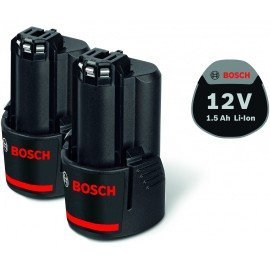 Bosch 2 x GBA 12V 1.5Ah