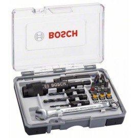 Bosch 20 részes Drill&Drive csavarbitkészlet PH2; PH2; PZ2; SL5; H4; H5; T15; T20; T25