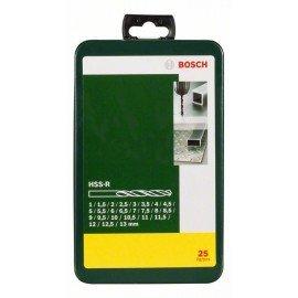 Bosch 25 részes HSS-R fémfúrókészlet