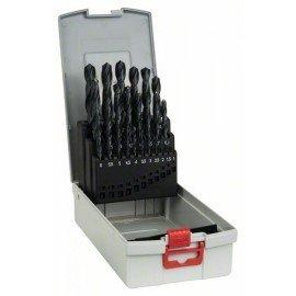 Bosch 25 részes ProBox HSS-R fémfúró készlet, DIN 338 1-13 mm