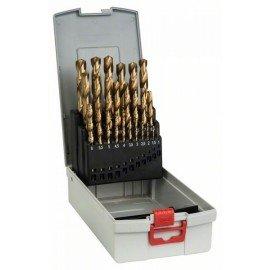 Bosch 25 részes ProBox HSS-TiN (titán bevonatú) fémfúrókészlet 1-13 mm