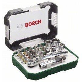 Bosch 26 részes csavarozófej- és fúrókészlet